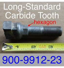 Bandit® Parts Long-Standard Carbide Side Hex Tooth, 900-9912-23