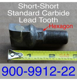 Bandit® Parts Short-Short Standard Carbide Lead Hex, 900-9912-22