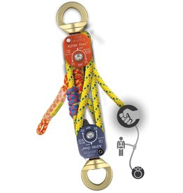 Rock Exotica AZTEK Pulley & Rope Set Assembled (1 Pulley Set, 1-Rope Set)