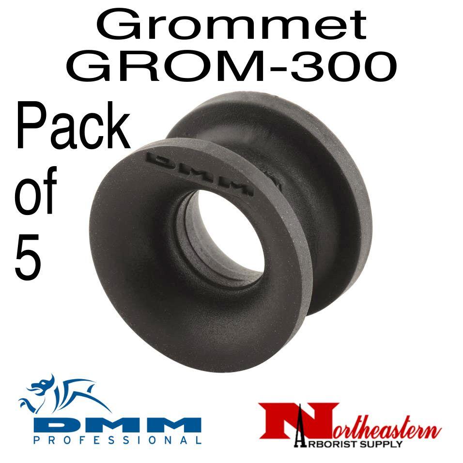 DMM Grommet 5 Pack, Black Color