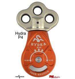Rock Exotica Hydra Triple Attachment Swivel Pulley