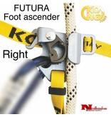 KONG FUTURA Foot ascender - Right, Gray