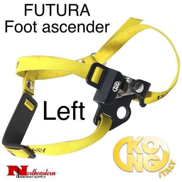 KONG FUTURA Foot ascender - Left, Black
