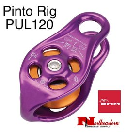 DMM Pinto Rig Pulley, Purple Color