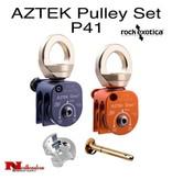 Rock Exotica AZTEK Pulley Set (2 Pulleys, 1 Pin, 1 Cover)