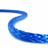 """Teufelberger Blue Winch Rope - 5/16"""" X 200' with Hook & Sleeve 13,300# US MBS"""