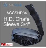 "All Gear Inc. Chafe Sleeve, HD Polyester 3/4"" ID x 30' stitch lines every 12"""