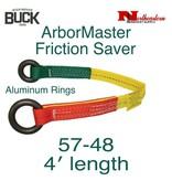 Buckingham Friction Saver 4' Hardcoat Anodized Aluminum Rings, 5000 lbs.