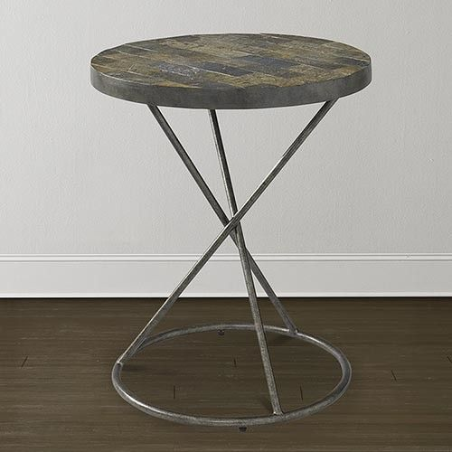 Horizon Lamp Accent Table