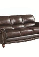 Coaster Lockhart Leather Sofa