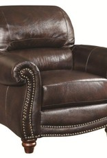 Coaster Lockhart Leather Chair