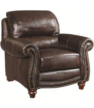 Coaster Lockhart Leather Chair