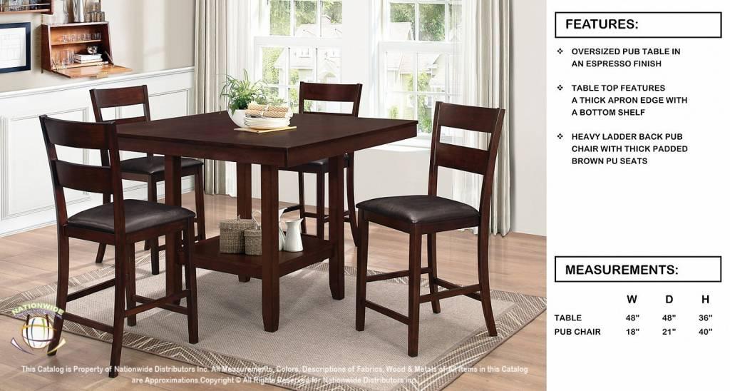 Nationwide Furniture Pub Chair (D360PC)