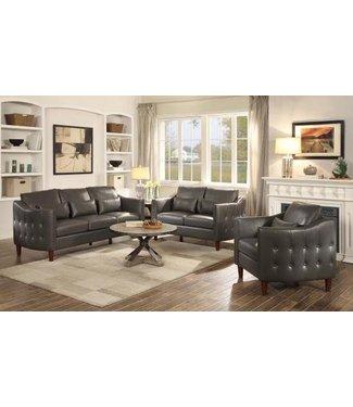 Coaster Braxton Chair (Grey Leather)