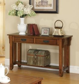 Coaster 702009 - SOFA TABLE (OAK)
