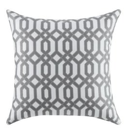 Coaster Accent Pillow Grey Pattern