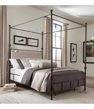 Coaster Lanchester  E King Canopy Bed (300546KE)