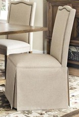 Coaster PARSON CHAIR W/ SKIRT