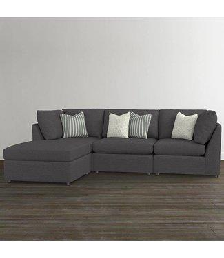 Bassett Furniture Beckham Small Chaise Sectional