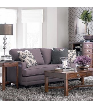 Bassett Furniture HGTV SM Custom UPH. Loveseat