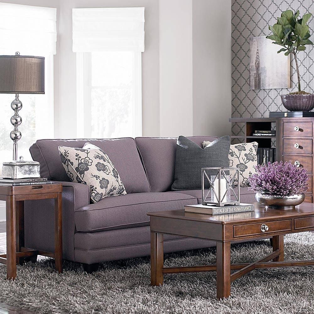 Bassett Furniture HGTV SM Custom UPH. Loveseat