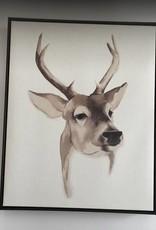 Coaster Wall Art - Deer Head (Single)