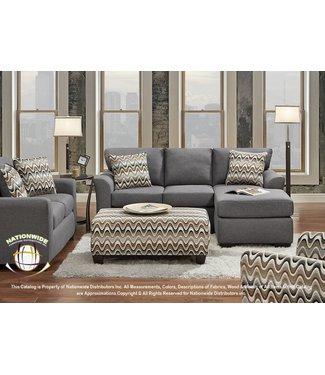 Grey Sofa Chaise