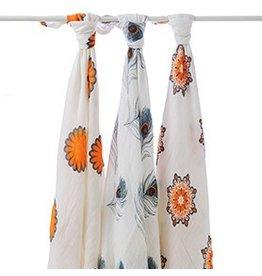 Aden + Anais Mela Bamboo Swaddle Blankets