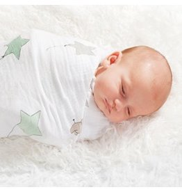 Aden + Anais A+A | Up, Up and Away Swaddle Blanets