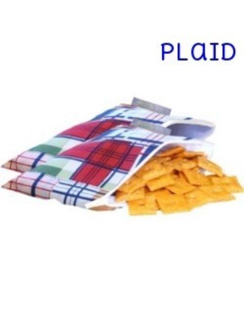 Itzy Ritzy Itzy Ritzy Mini Snack Bag- Plaid
