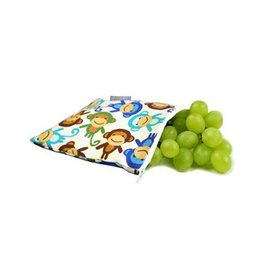 Itzy Ritzy IR Snack Bag- Funky Monkey Remix