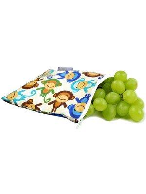 Itzy Ritzy Itzy Ritzy Snack Bag- Funky Monkey Remix