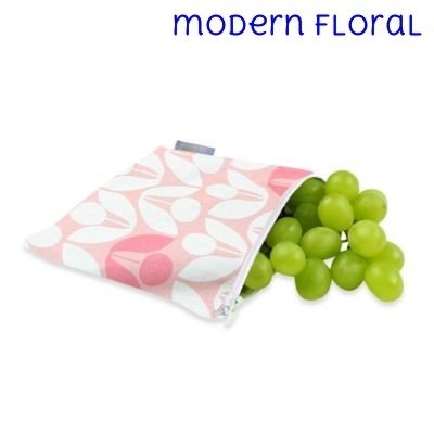 Itzy Ritzy Itzy Ritzy Snack Bag- Modern Floral