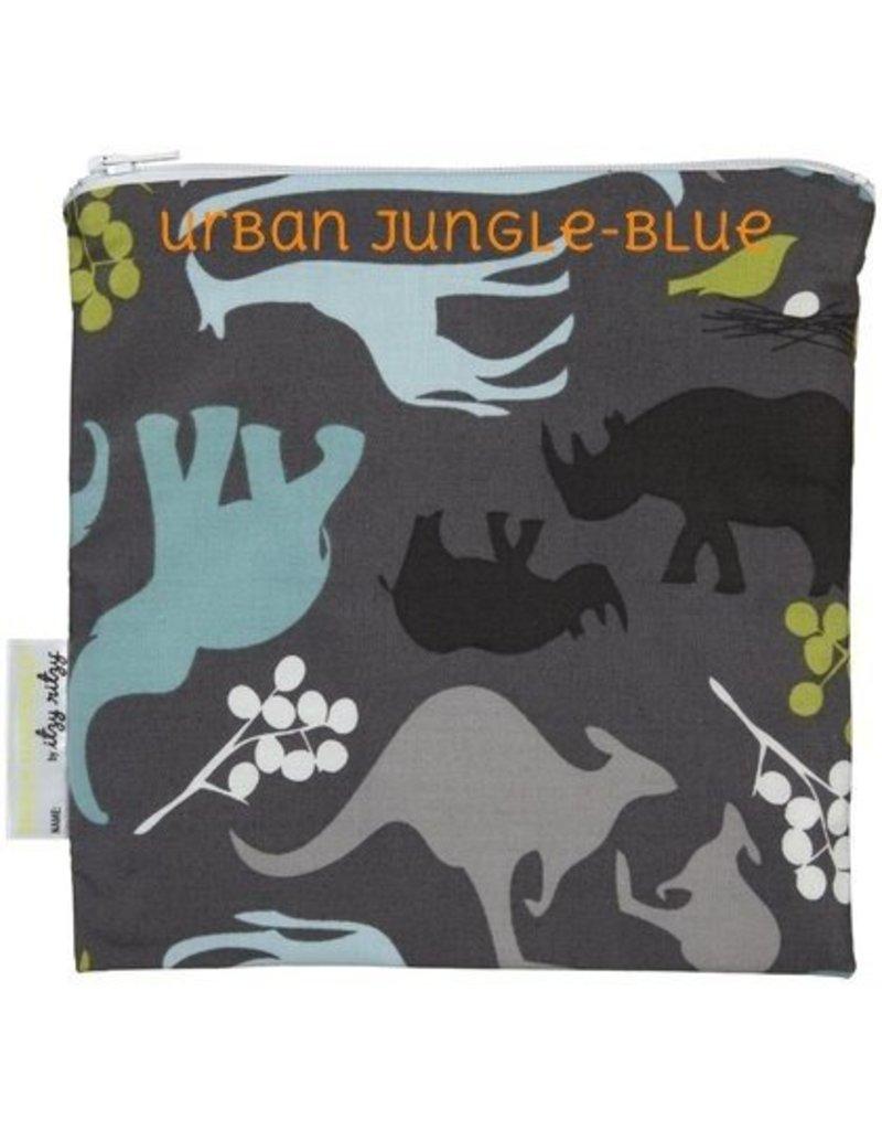Itzy Ritzy Itzy Ritzy Snack Bag- Urban Jungle