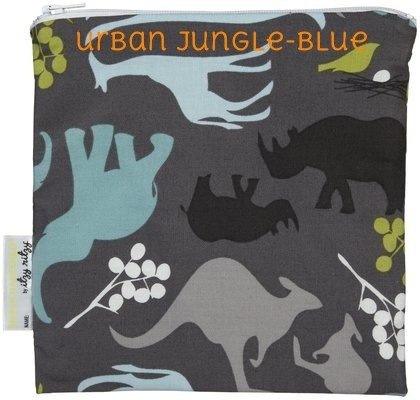 Itzy Ritzy Itzy Ritzy Snack Bag- Urban Jungle
