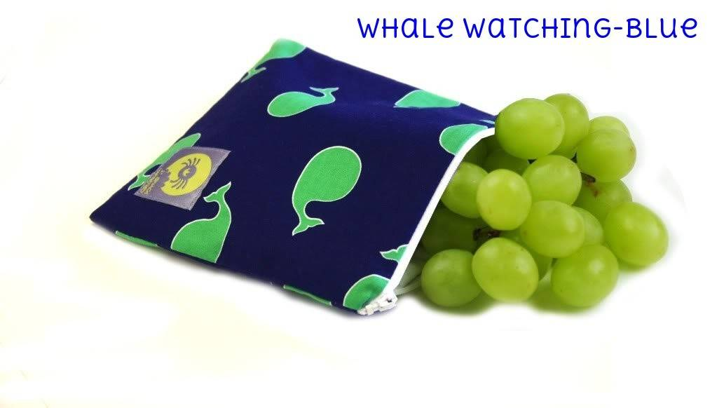 Itzy Ritzy Itzy Ritzy Snack Bag- Whale Watching