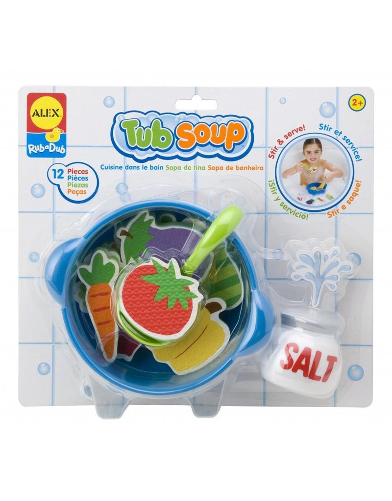 ALEX toys ALEX Toys RubaDub Stickers- Tub Soup