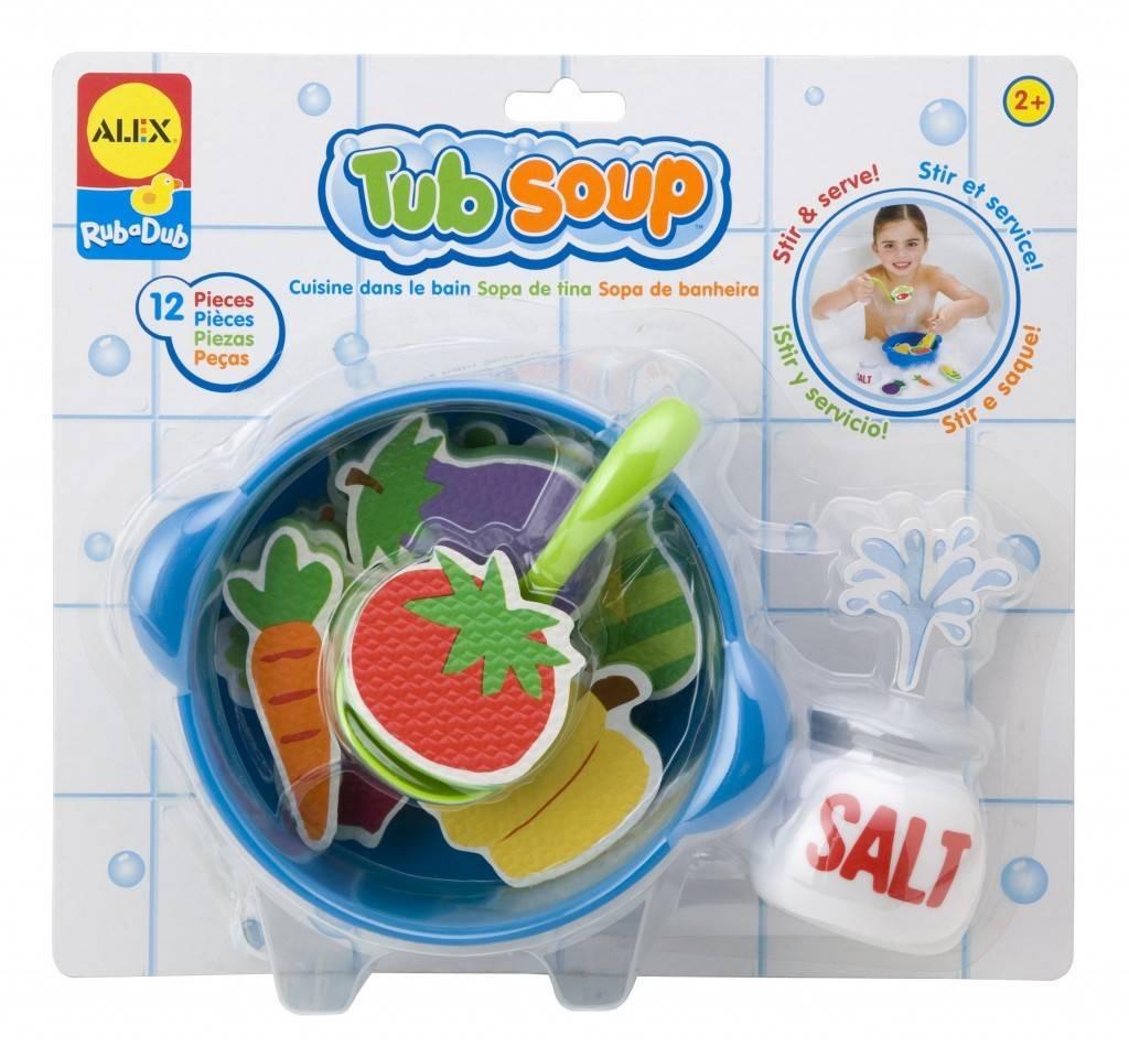 ALEX toys ALEX Toys RubaDub Stickers- Tub Soup
