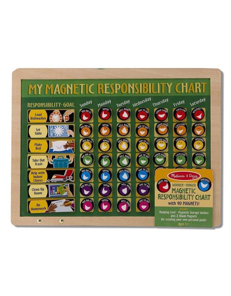 Melissa and Doug Melissa & Doug Magnetic Responsibility Chart