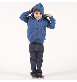 Kicky Pants KP Zip Front Hoodie
