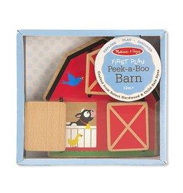 Melissa and Doug Peek-A-Boo Barn