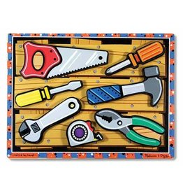 Melissa and Doug Chunky Puzzle- Tools