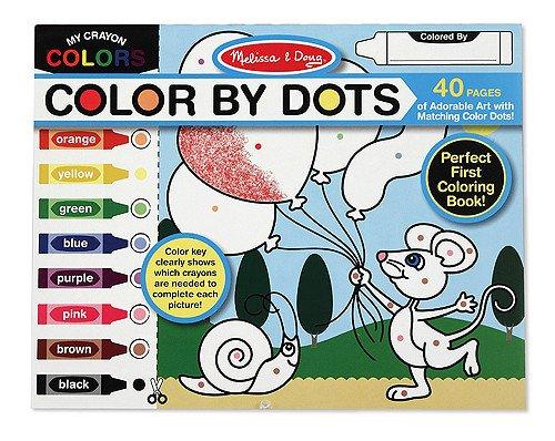 Melissa and Doug Melissa & Doug Color by Dots