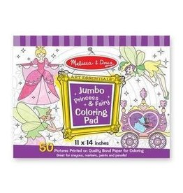 Melissa and Doug Jumbo Coloring Pad- Princess