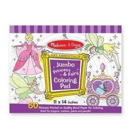 Melissa and Doug Jumbo Coloring Pad- Princess