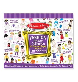 Melissa and Doug M&D Sticker Collection- Fashion