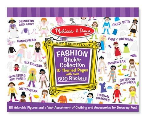 Melissa and Doug Melissa & Doug Fashion Sticker Collection