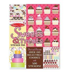 Melissa and Doug M&D Sticker Pad- Sweets & Treats