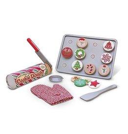 Melissa and Doug M&D Slice & Bake Christmas Cookie Set
