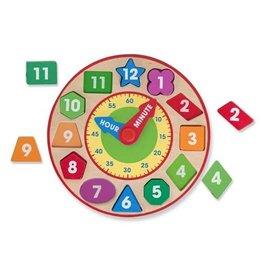 Melissa and Doug M&D Shape Sorting Clock
